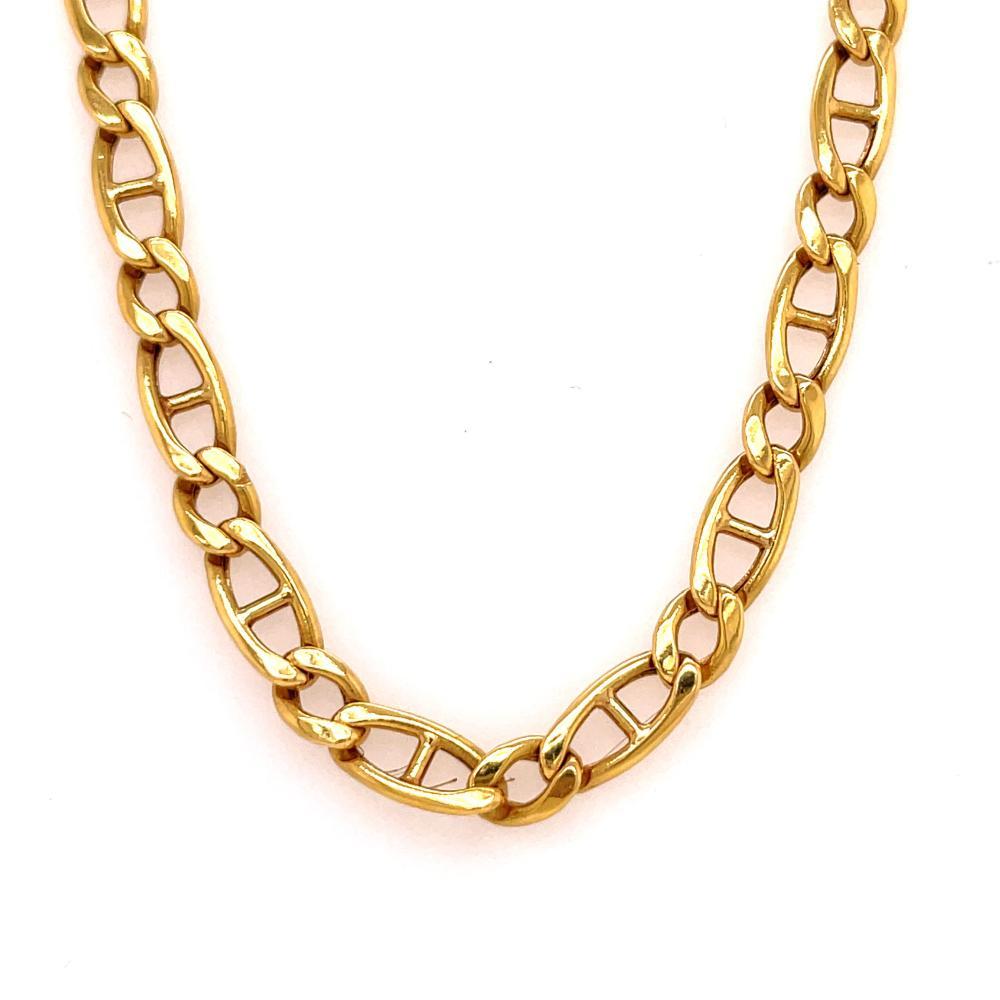 18k Gold Men Chain