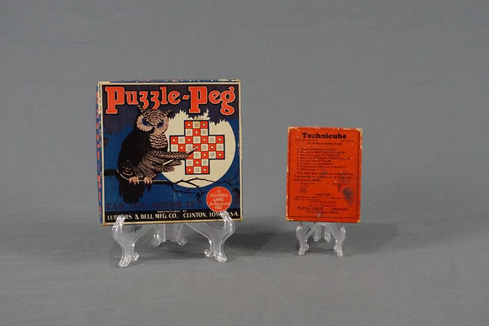 Two Early 20th Century Games
