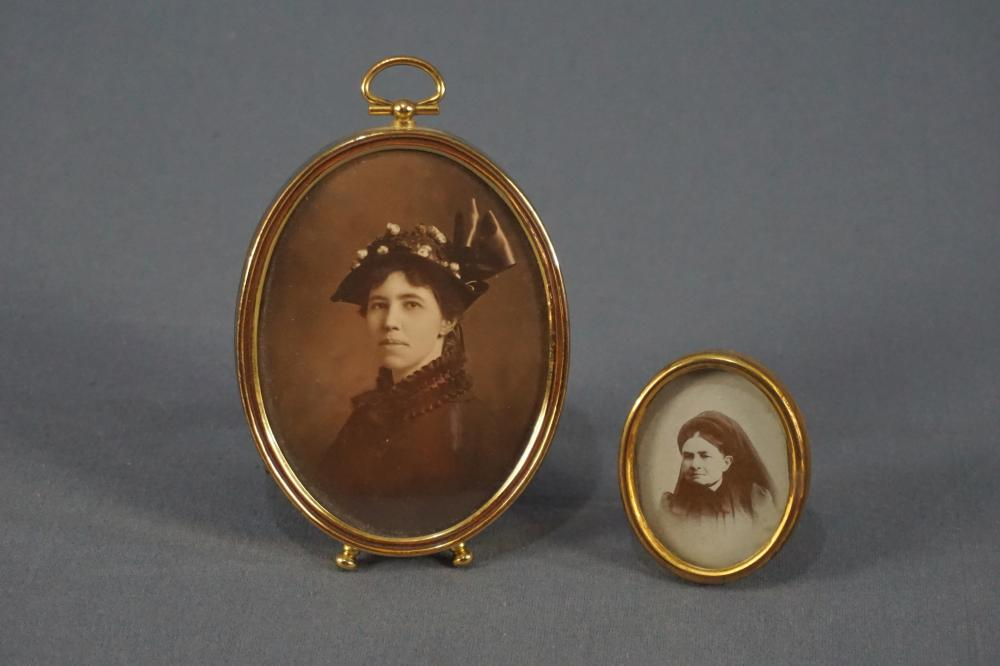 Two Framed Photos of Victorian Women
