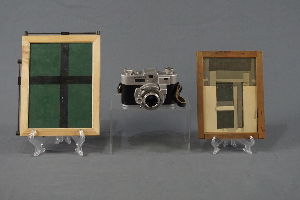 Vintage Camera and Contact Frames by Kodak