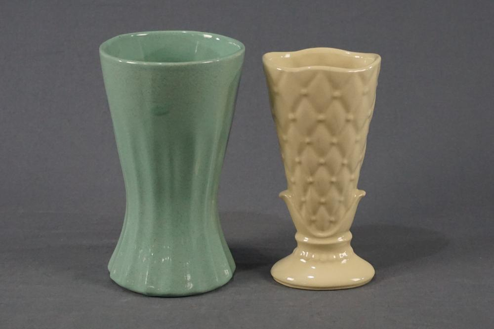 Two Vintage Shawnee and Pfaltzgraff Vases