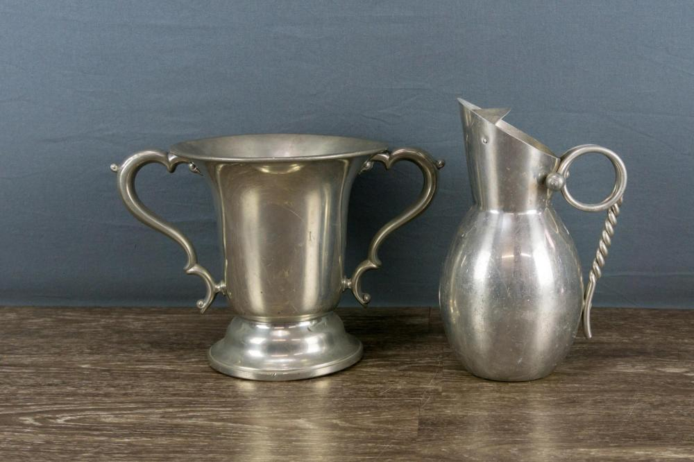 Pewter Tankard and Trophy