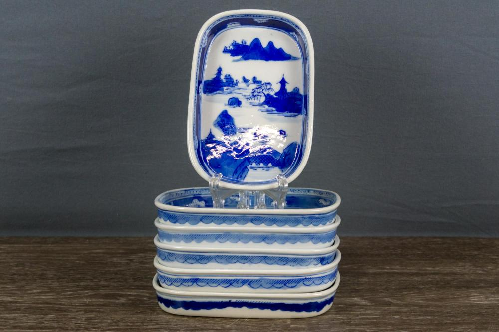 Blue Chinese Export Plates