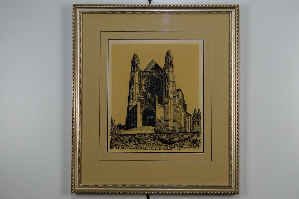 "Ted Anderson, ""Cathedral St. John"" Print"