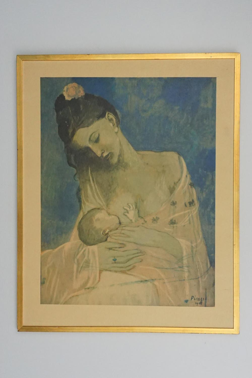 "Vintage Picasso ""Maternity"" Print"