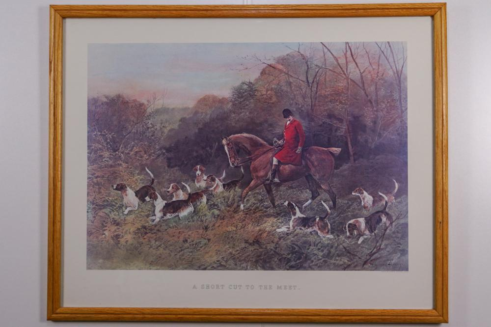 "Heywood Hardy, ""A Short Cut to the Meet"" Print"