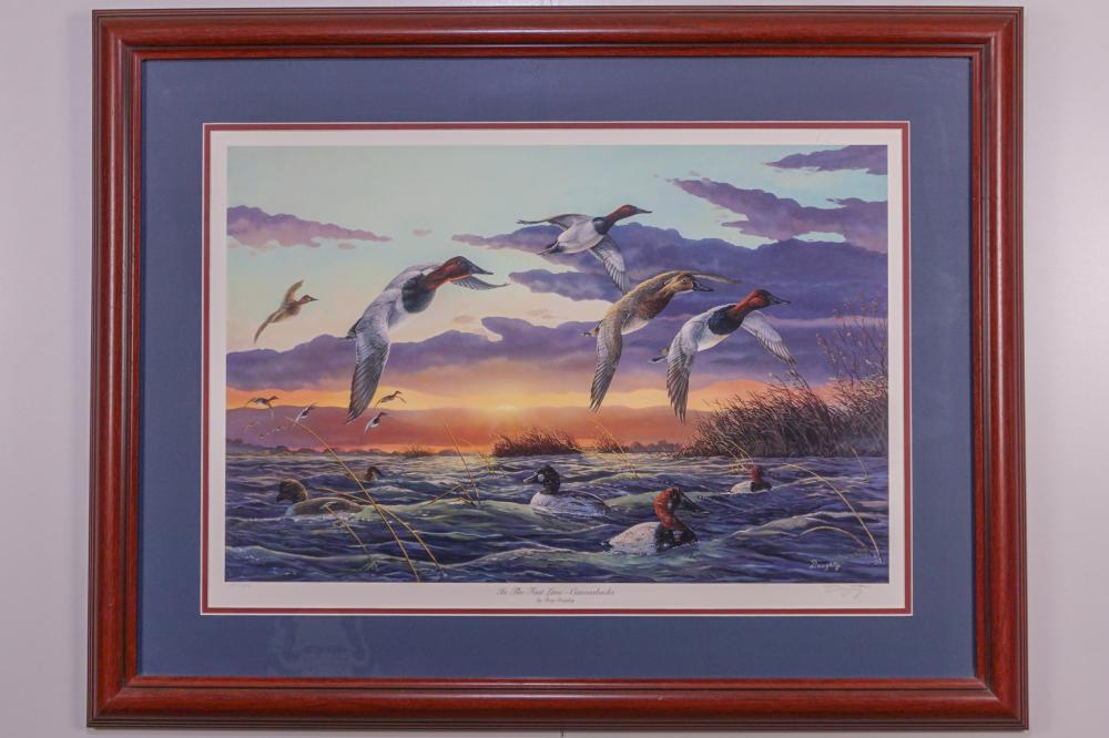 "Terry Doughty, ""In the Fast Lane - Canvasbacks"""