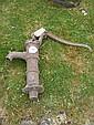 An old hand pump