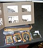 Various daguerreotypes, together with photo album