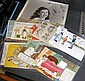 A selection of early comic postcards, film star