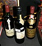 1980 Vintage red wine and two others