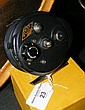A Gyrex vintage fly fishing reel with original box