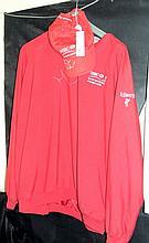 An HSBC World Match Play Championship jacket and