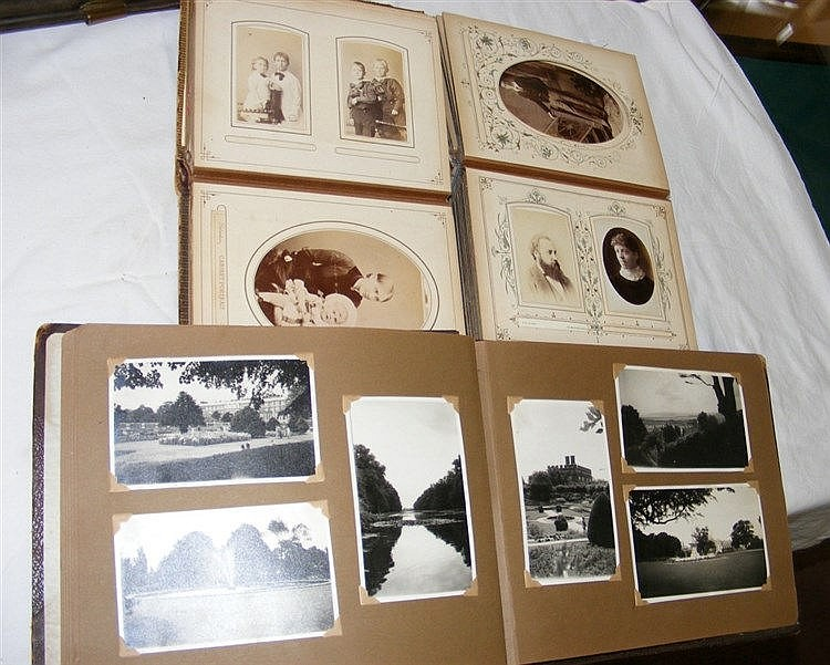 A victorian photo album together with old photograph album for Classic house albums
