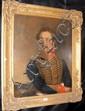 A 19th century oil on canvas portrait of gentleman
