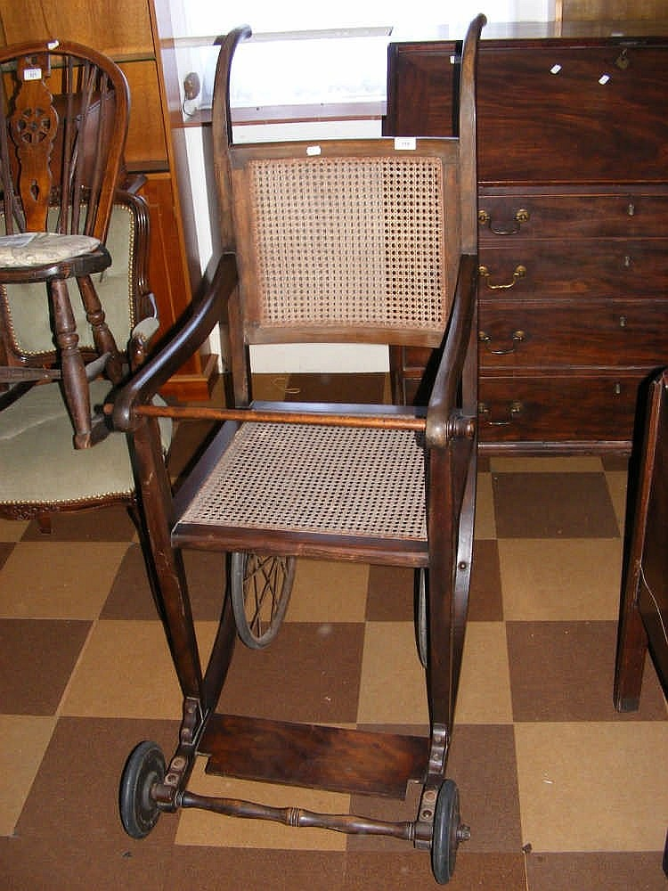 The Carstairs Edwardian Invalid Chair