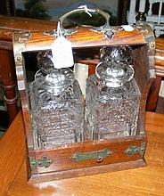 Two bottle tantalus