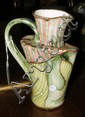 A Bonchurch Pottery - Andrew Bristow abstract jug