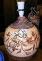 A Bonchurch Pottery - Tony Bristow vase with brown