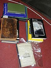 Various interesting volumes on sailing, yacht