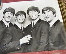 An original TV Times competition - signed Beatles