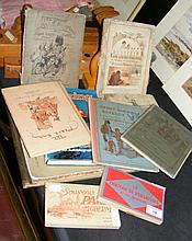 Interesting selection of books and tourist
