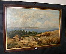 Attributed to WILLIAM WILLIAMS - 60cm x 90cm - oil