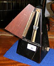 A French metronome by Masliel, Paris