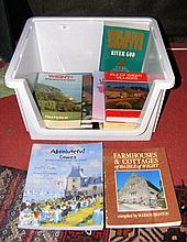 Various books relating to the Isle of Wight