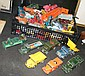 A large quantity of die cast model vehicles -