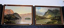 FRANCIS JAMIESON - a pair of oil on canvases -
