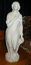An antique Copeland Parian figure