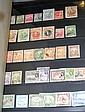 A large selection of collectable postage stamps -