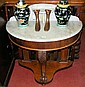A Victorian marble top washstand