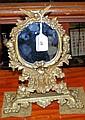A decorative continental Art Nouveau style table