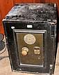 An old cast iron safe