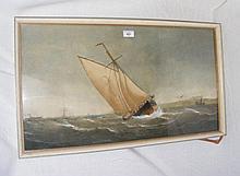 CHARLES TAYLOR JUNIOR - 40cm x 71cm - watercolour