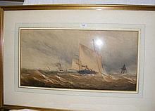 CHARLES TAYLOR JUNIOR - 37cm x 74cm - watercolour