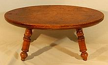 Wallace Nutting Furniture - #153 Oval Windsor Stool