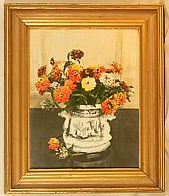 Wallace Nutting - Mexican Zinnias - Floral