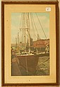 E. Madge Smith - Market Slip, Saint John, NB - Fishing Boat