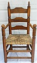 Wallace Nutting - #493 Maple Pilgrim Arm Chair