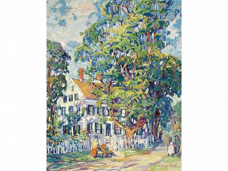 KATHRYN E. BARD CHERRY, AMERICAN (1880-1931) House