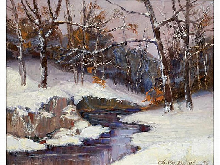CHARLES WILLIAM DUVALL, AMERICAN (1864-1966) Creek