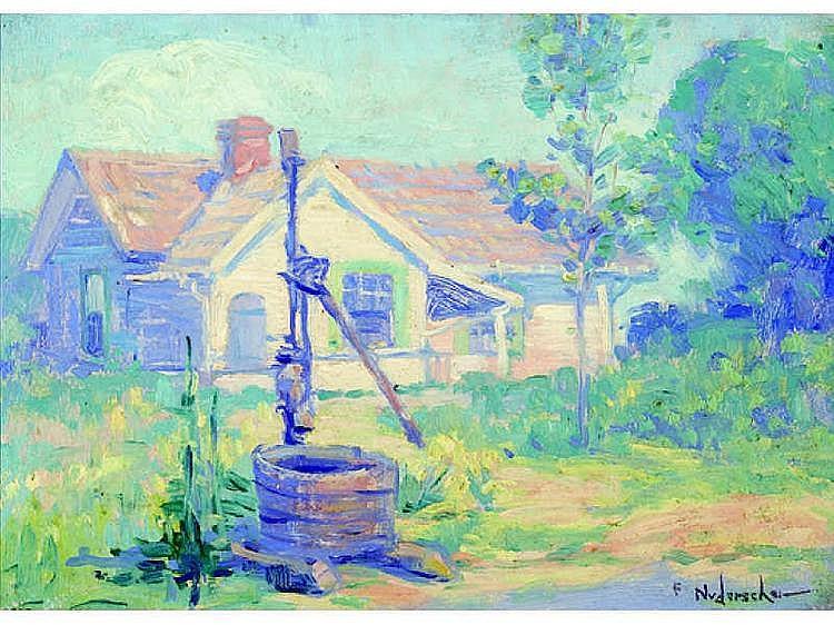 FRANK B. NUDERSCHER, AMERICAN (1880-1959) House