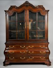 Dutch Baroque Style China Cabinet