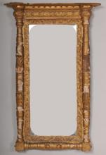 Early 19th Century Gilt Wood Neoclassical Mirror