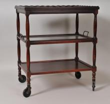 American Tea Cart w/ Three Tiers