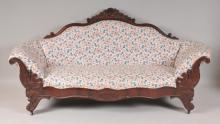 19th Century Walnut Sofa