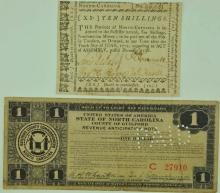 N. Carolina Colonial Currency & Rev. Anticipation
